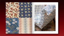 Décors Barbares, fabrics details
